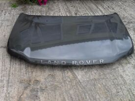 LANDROVER FREELANDER BONNET IN DARK GREEN FROM 05 MODEL