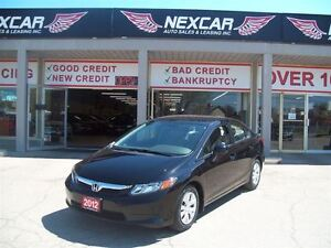 2012 Honda Civic LX AUT0 A/C CRUISE ONLY 101K