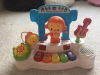 V tech dancing monkey piano toy