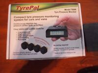tyrepal tyre pressure monitoring system with 4 sensors BRAND NEW