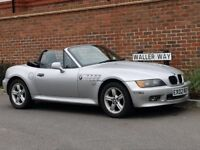 Bmw Z3 Convertible (2002/02) + GENUINE 73K + HIGH SPEC + AIR CON + HEATED SEATS + FACELIFT +