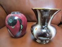 TWO BEAUTIFUL SMALL VASES