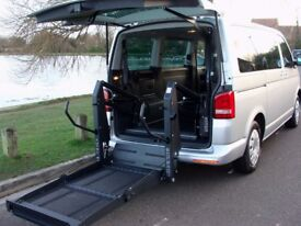 2015 VW T5 Shuttle DSG Auto 1,600 miles only... Transporter Wheelchair disabled ..Showroom condition