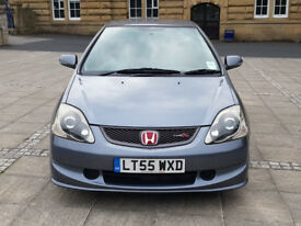honda civic type r ep3 55 reg a/c model premier edition cosmic grey 1 OWNER