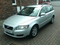 2008 08 VOLVO V50 1.8 S ESTATE ** FULL SERVICE HISTORY ** MOT MAY 2019 ** VOLVO ESTATE AYRSHIRE **
