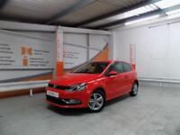 Volkswagen Polo MATCH EDITION (red) 2017-09-27