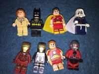 Minifigures compatible with Lego 50p - £1 each