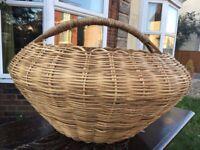 Fabulously large and unusual basket