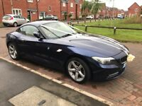 59 Plate BMW Z4 2.5 Litre 23i sDrive (Auto) with iDrive in stunning condition