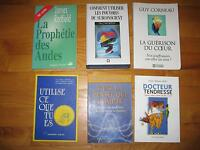 .Livres francais et anglais/French and english books