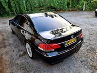 BMW 7 SERIES 730D FULLY LOADED LUXURY CAR MOT TAX CREAM LEATHER