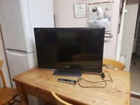 "Toshiba 32"" tv with remote full working order offers welcome"
