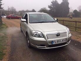 Toyota Avensis 2.2 D-4D T3-X 5dr LOW MILEAGE OUTSTANDING SERVICE HISTORY ONLY £1095