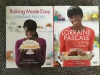 Baking Made Easy by Lorraine Pascale + Home Cooking Made Easy