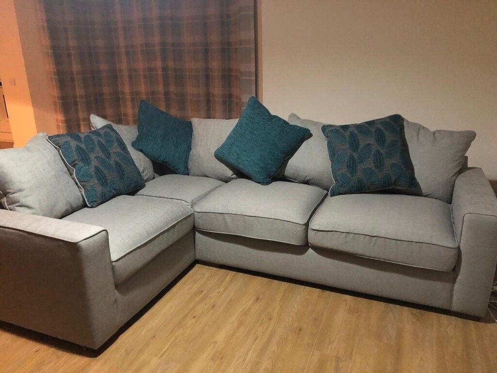 Almost brand 2x2 corner sofa from furniture village   in Weston-super-Mare,  Somerset   Gumtree