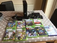 Xbox 360, Kinect, 2 controllers and 9 games