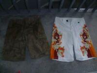 O'Neil board shorts & Animal shorts 34 inch waist