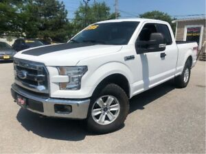 2015 Ford F-150 XLT 4x4 LEATHER LOADED TOW PACKAGE