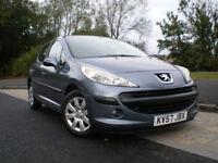 Peugeot 207 1.4 16V S 5dr Hatchback Grey Manual * 12 MONTHS MOT * 3 Months WARRANTY