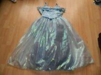 NEW DISNEY STORE 11-12 YEARS CINDERELLA DELUXE FANCY DRESS rrp £60