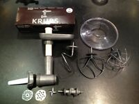 Krups grinder head XF602 and bowl mixers