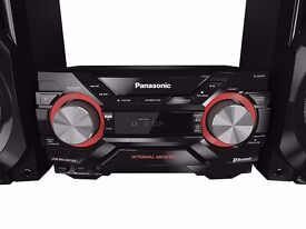 Sell Panasonic Speaker System with Wireless Audio Streaming and 2 GB Internal Memory - Black!