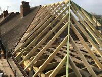 TRADITIONAL TIMBER ROOF CONSTRUCTION 40 YEARS EXPERIENCE.
