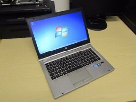 HP Elitebook 8460p laptop Intel 3.4ghz x 4 Core i7 - 2nd generation CPU with ATI Graphics
