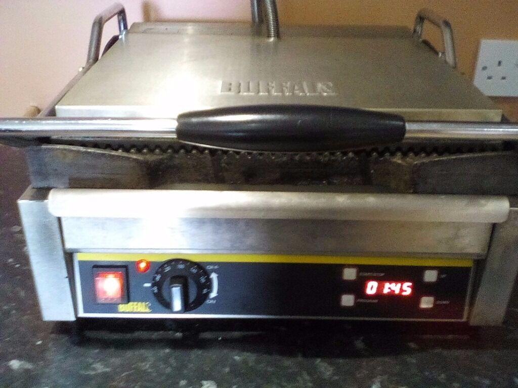 Buffalo panini and grill press