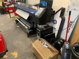 Roland XC 540 wide format print and cut full business