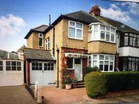 4 bedroom house , garage 2 parking space . Big garden ** close to m1 and airport good location***