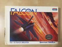 Falcon F-16 Fighter Simulator game for Atari ST: Rare