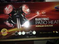 Heatmaster 2000w Patio Heater