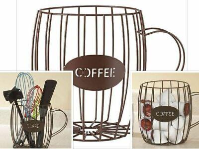 Kaffee Pod Storage (Coffee Pod Holder K Cup Storage Rack Keurig Capsule Cups Display Stand)