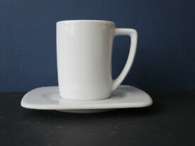 Espresso coffee cups & saucers x 21, party, wedding, catering, Porvasal Spain