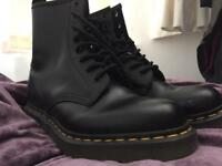 Dr Martens Black Womens Boot 1460 Smooth