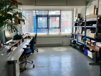 Office space to share – The Glassworks, Folkestone