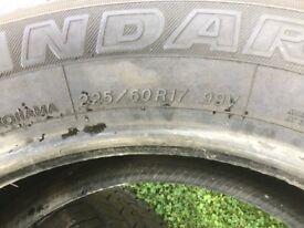 Yokohama tyres as new 17 inch geo lander