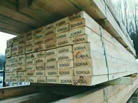 5 x 2 Rough Sawn Timber 3.6mtr Lengths