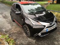 2017 TOYOTA AYGO X PRESS PLAY 5 DOOR BLACK TOP SPEC YARIS ZERO TAX C1 108