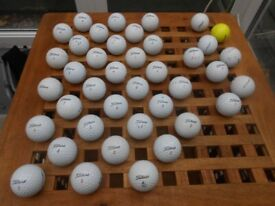 40 Golf Balls Titleist -[32 Tour models] £10
