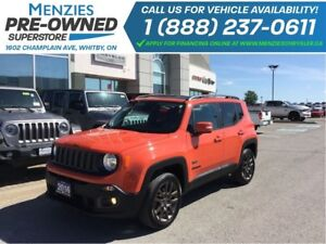 2016 Jeep Renegade 75th Anniversary, ONE OWNER, Clean Carproof