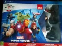 Disney Infinity 2.0: Marvel Starter Pack PS4