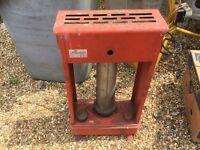 Greenhouse heater. Used