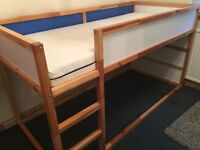 Ikea childrens bunk bed excellent condition