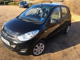 Hyundai i10 1.2Ltr, 5Dr, 1 previous owner
