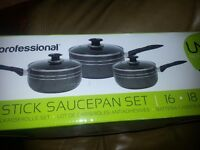 Professional sauce pan set