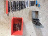 Drill bits - steel.