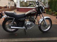 yamaha sr 250 superb motorcycle(1984)