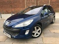2009 / PEUGEOT 308 / ESTATE / 7 SEATER / ELECTRIC WINDOWS / CD / DECEMBER MOT .